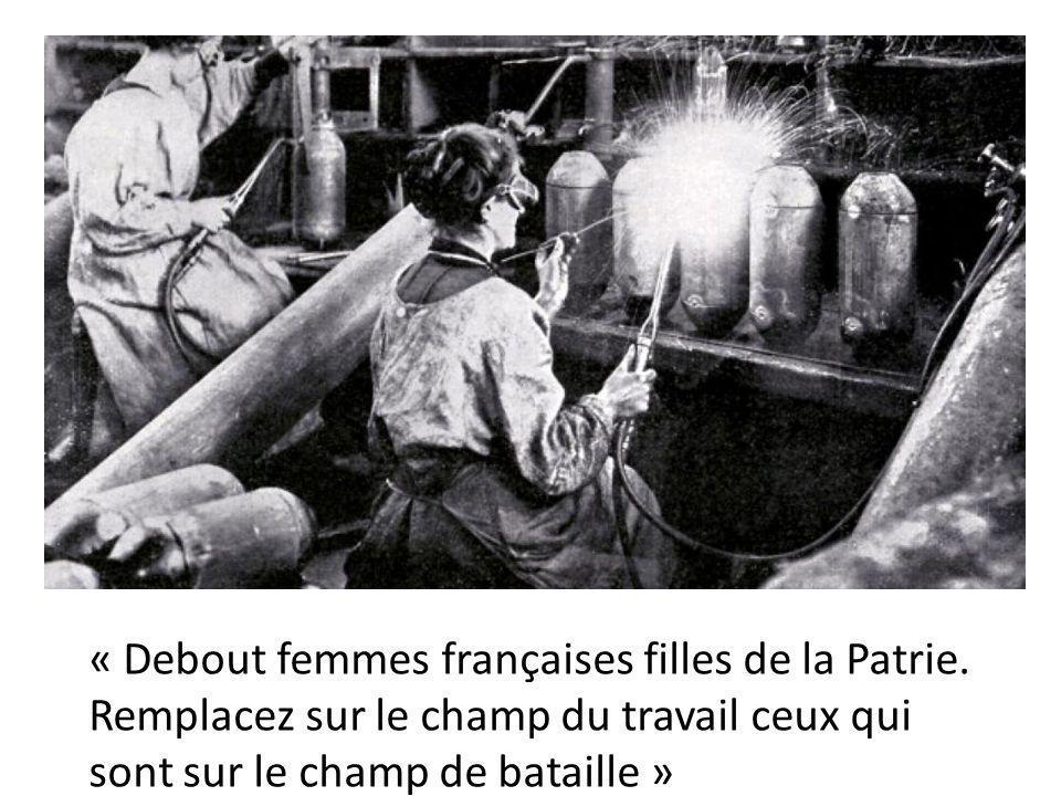 « Debout femmes françaises filles de la Patrie.