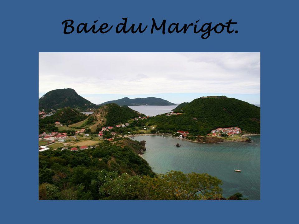 Baie du Marigot.