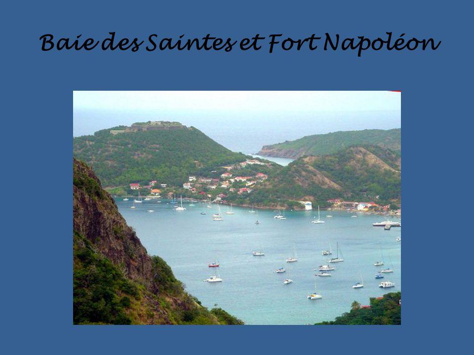 Baie des Saintes et Fort Napoléon