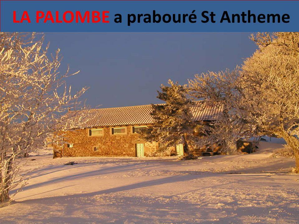 LA PALOMBE a prabouré St Antheme