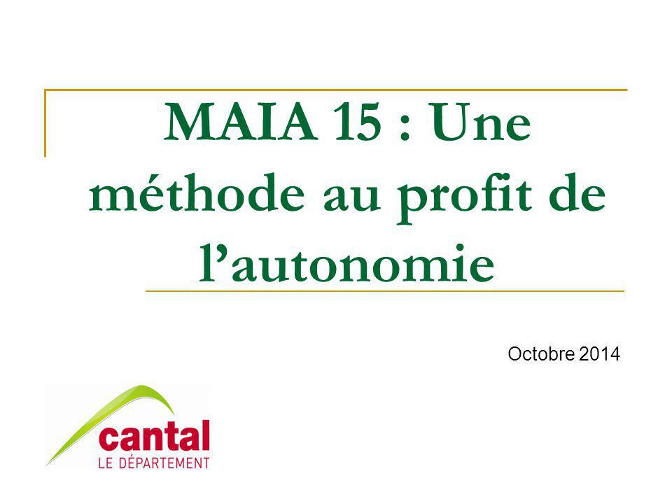 MAIA 15 : Une méthode au profit de l'autonomie