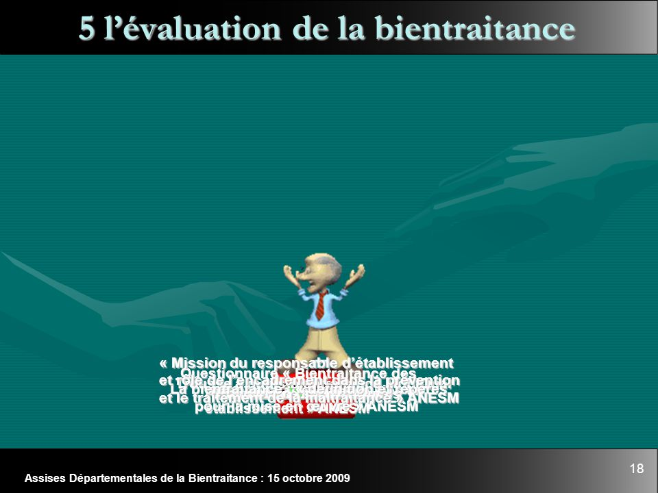 5 l'évaluation de la bientraitance