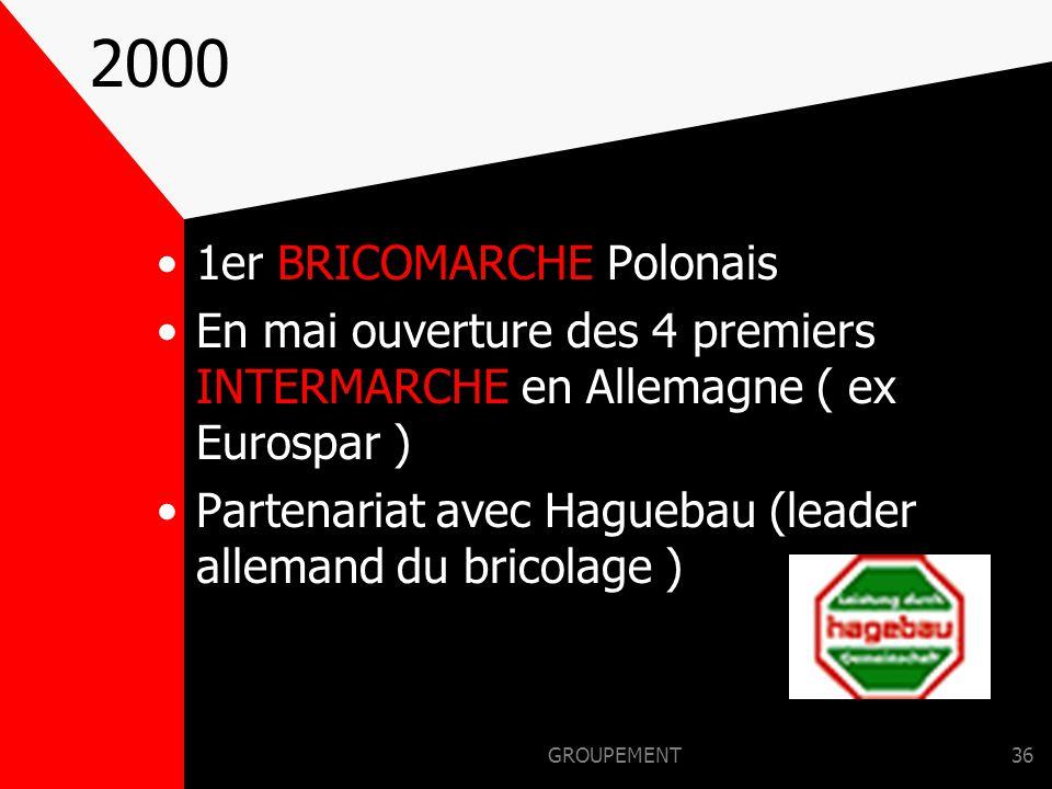 2000 1er BRICOMARCHE Polonais