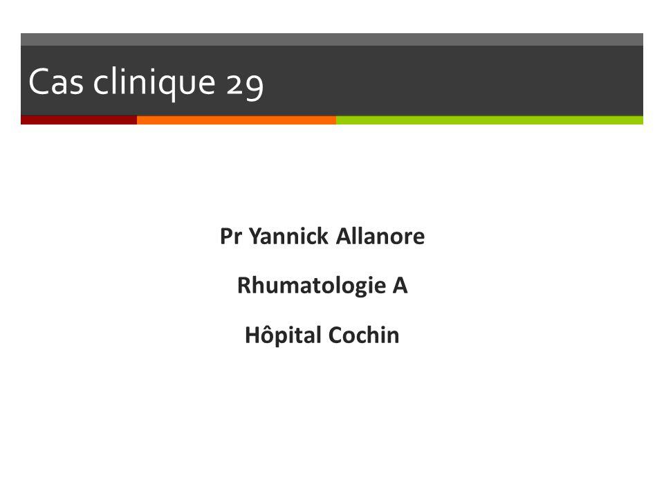 Pr Yannick Allanore Rhumatologie A Hôpital Cochin
