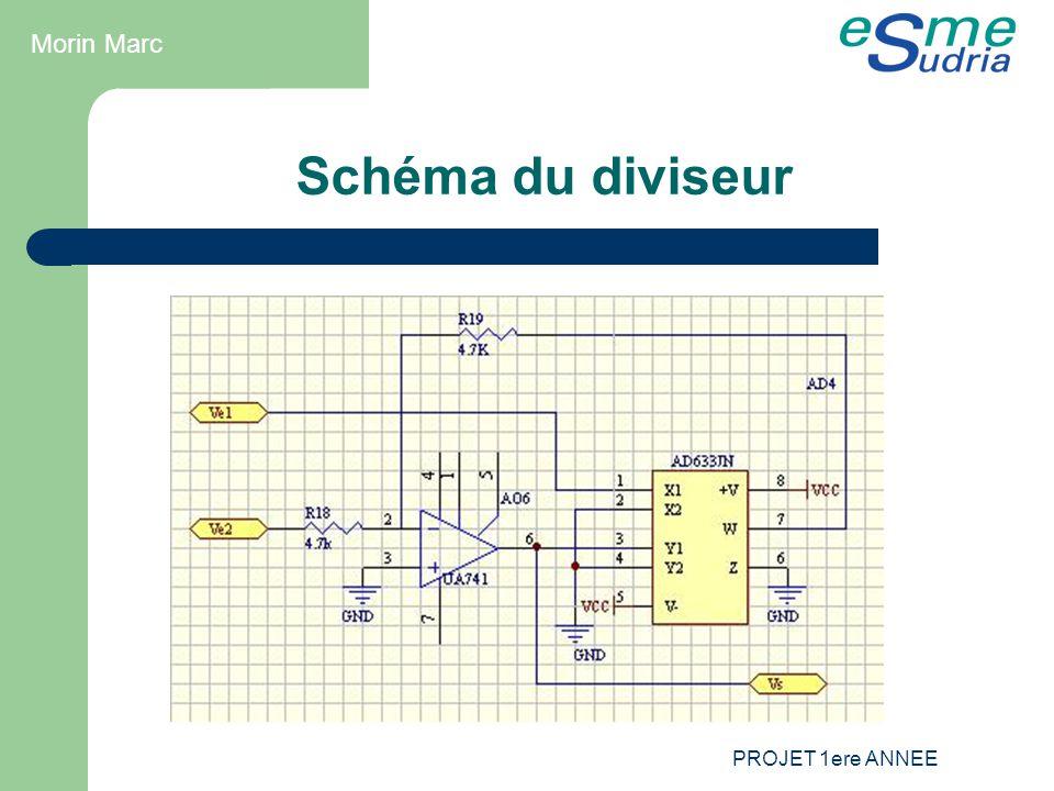 Morin Marc Schéma du diviseur PROJET 1ere ANNEE