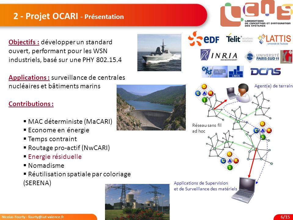 2 - Projet OCARI - Présentation