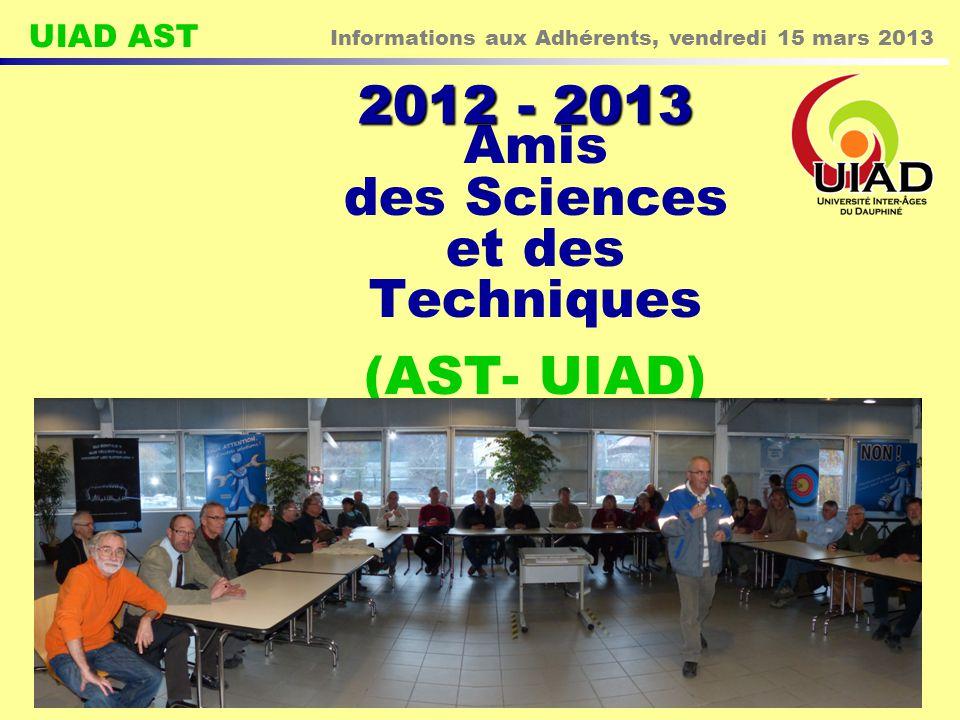 Amis des Sciences et des Techniques (AST- UIAD)