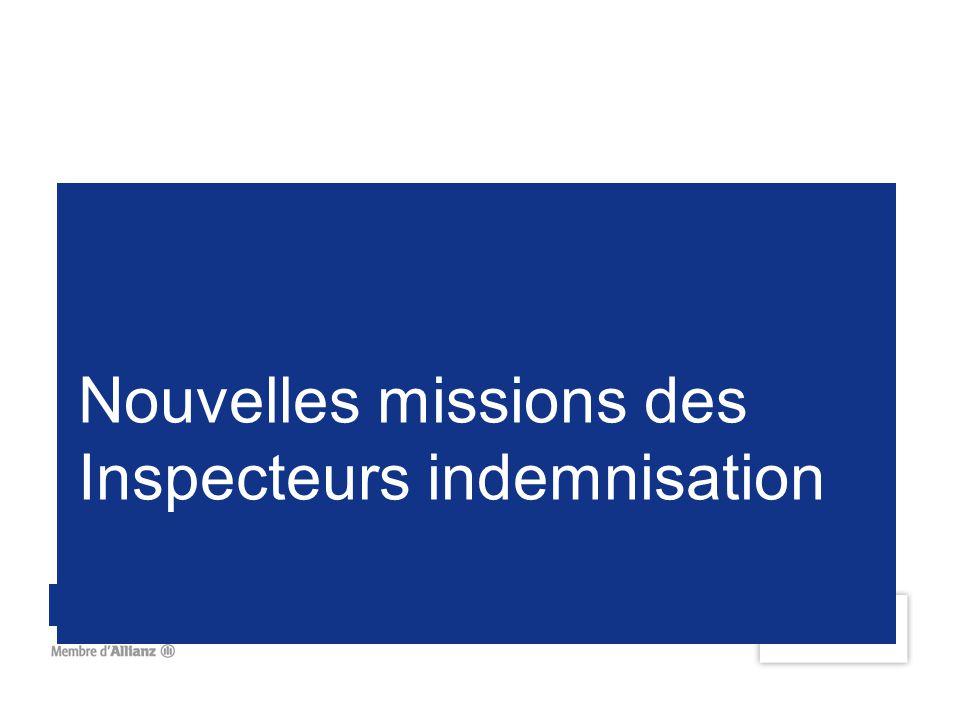 Nouvelles missions des Inspecteurs indemnisation