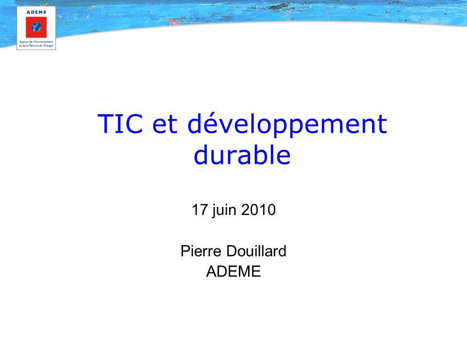 TIC et développement durable