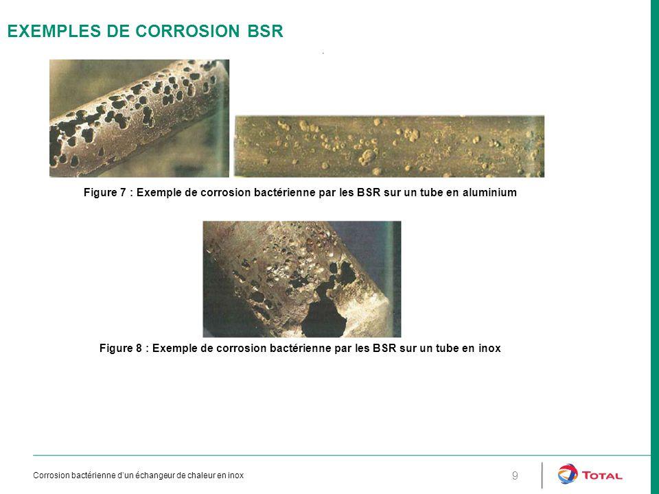 EXEMPLES DE CORROSION BSR
