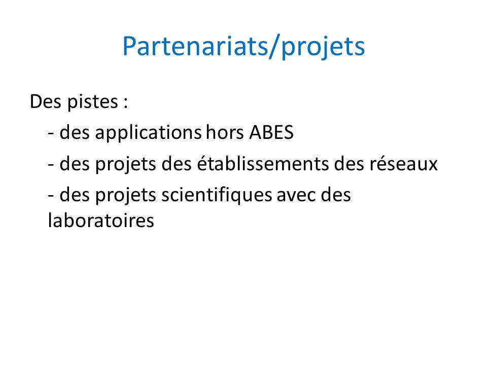 Partenariats/projets