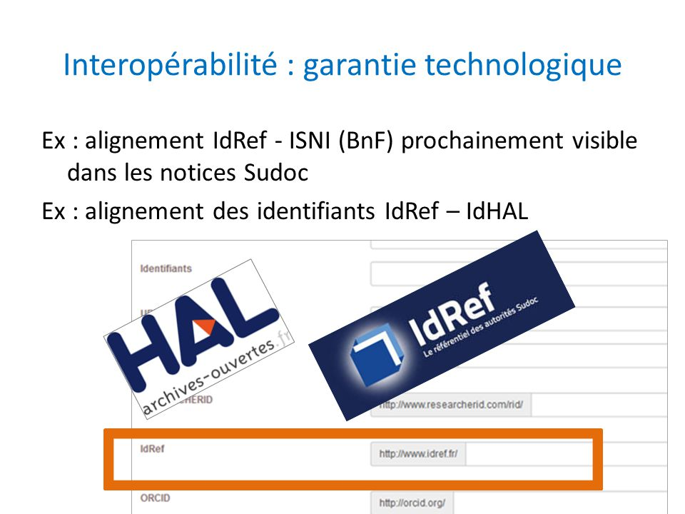 Interopérabilité : garantie technologique