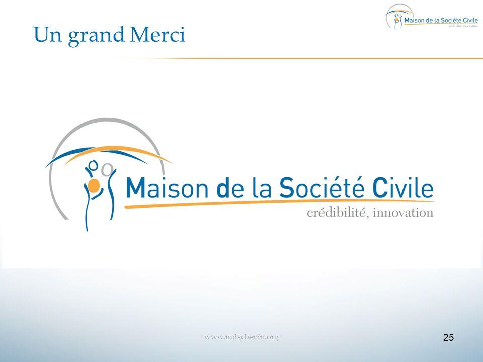 Un grand Merci www.mdscbenin.org