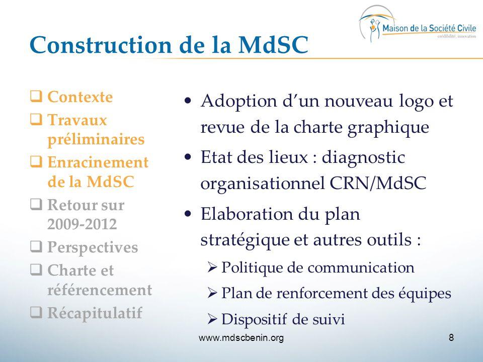 Construction de la MdSC