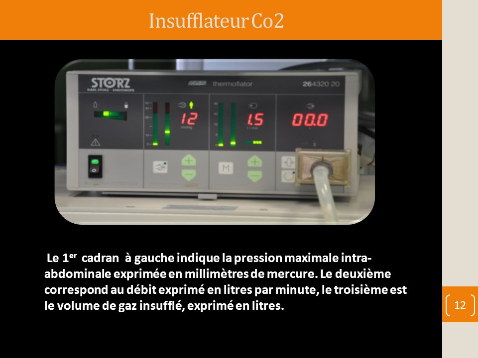 Insufflateur Co2