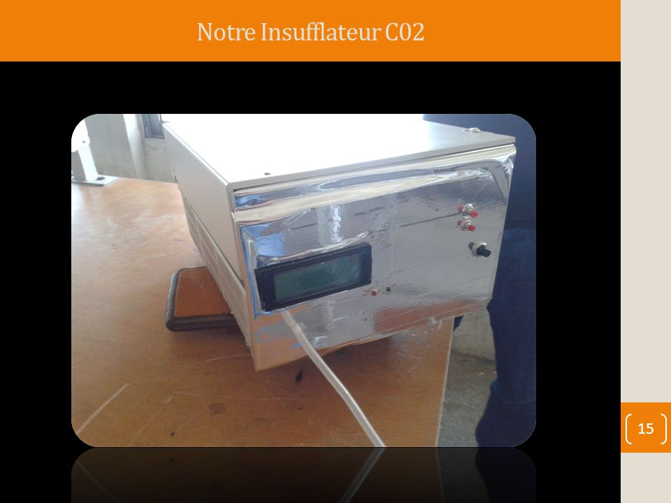 Notre Insufflateur C02