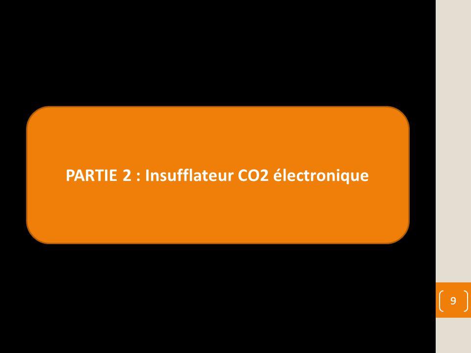 PARTIE 2 : Insufflateur CO2 électronique