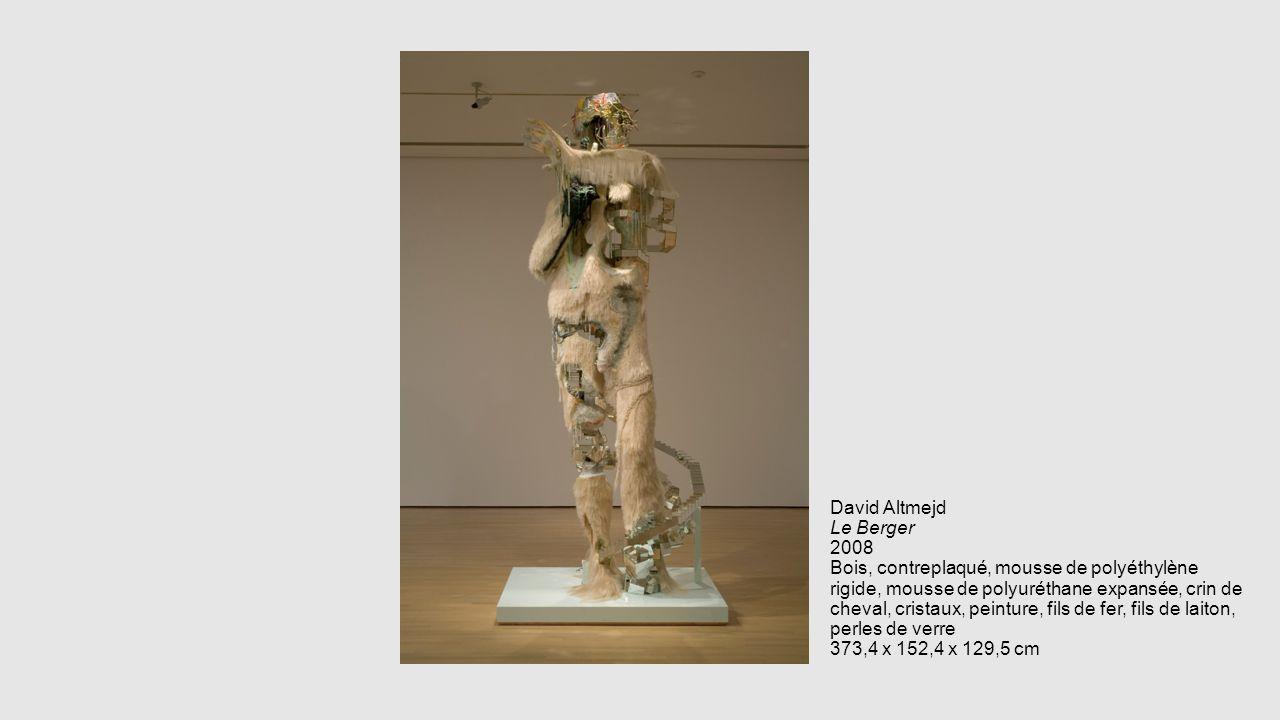 David Altmejd Le Berger 2008 Bois, contreplaqué, mousse de polyéthylène rigide, mousse de polyuréthane expansée, crin de cheval, cristaux, peinture, fils de fer, fils de laiton, perles de verre