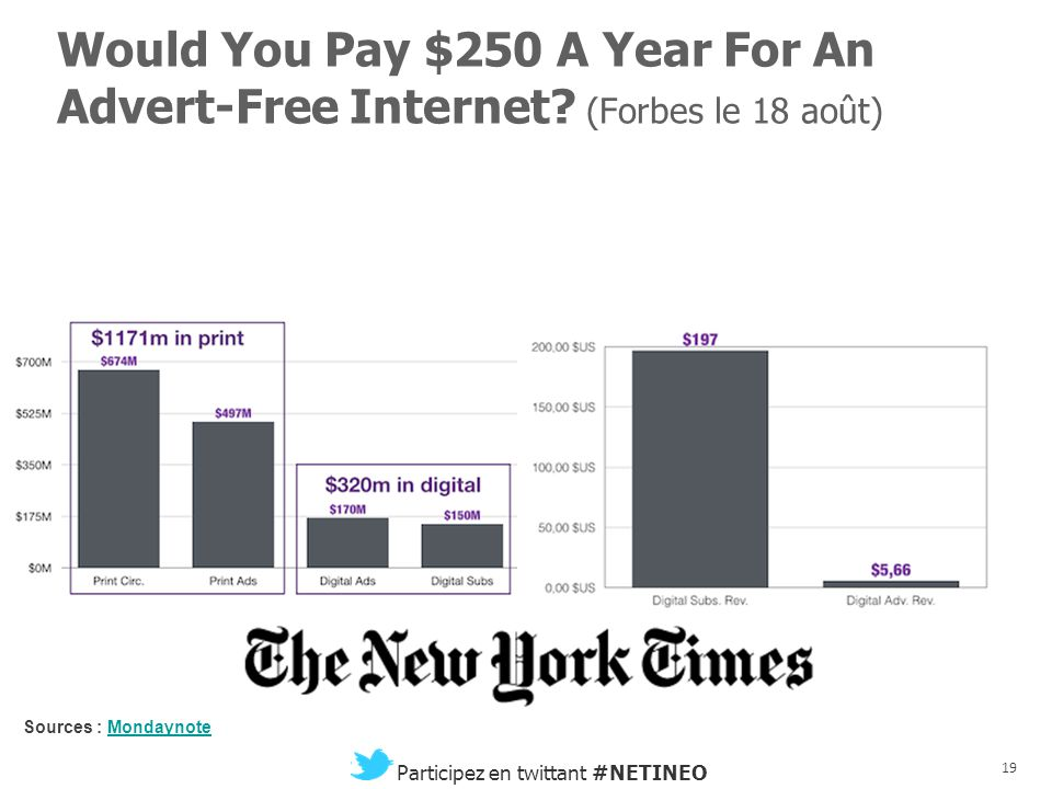 Would You Pay $250 A Year For An Advert-Free Internet