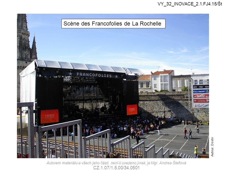 Scène des Francofolies de La Rochelle