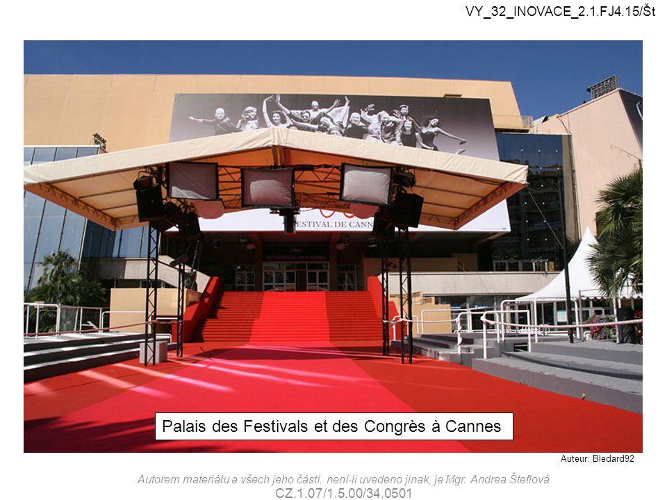 Palais des Festivals et des Congrès à Cannes