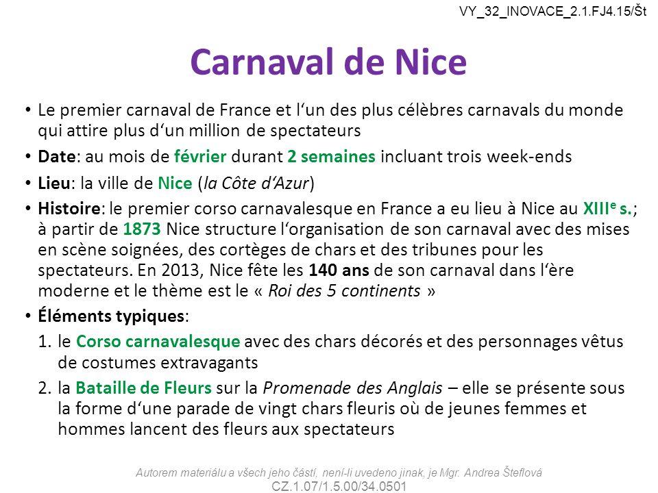 VY_32_INOVACE_2.1.FJ4.15/Št Carnaval de Nice.