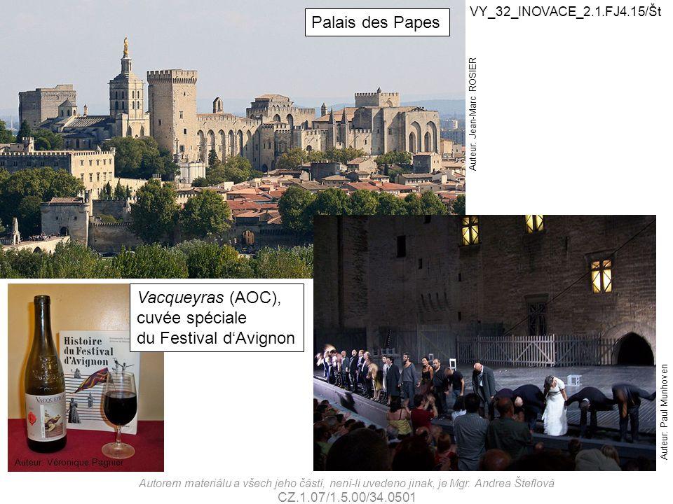 Palais des Papes Vacqueyras (AOC), cuvée spéciale