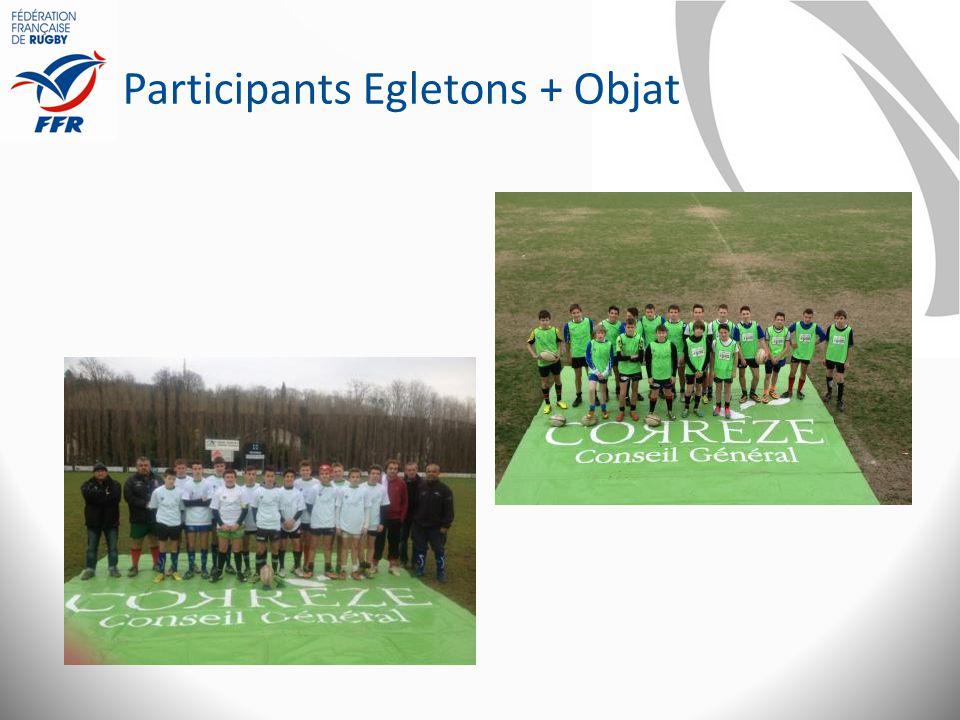 Participants Egletons + Objat
