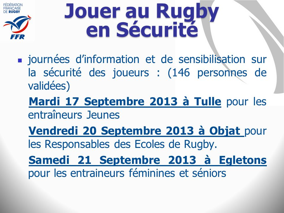 Jouer au Rugby en Sécurité