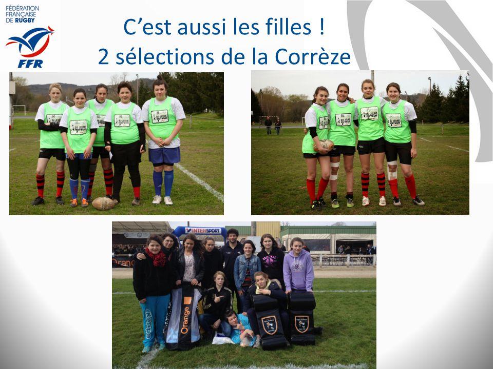 C'est aussi les filles ! 2 sélections de la Corrèze