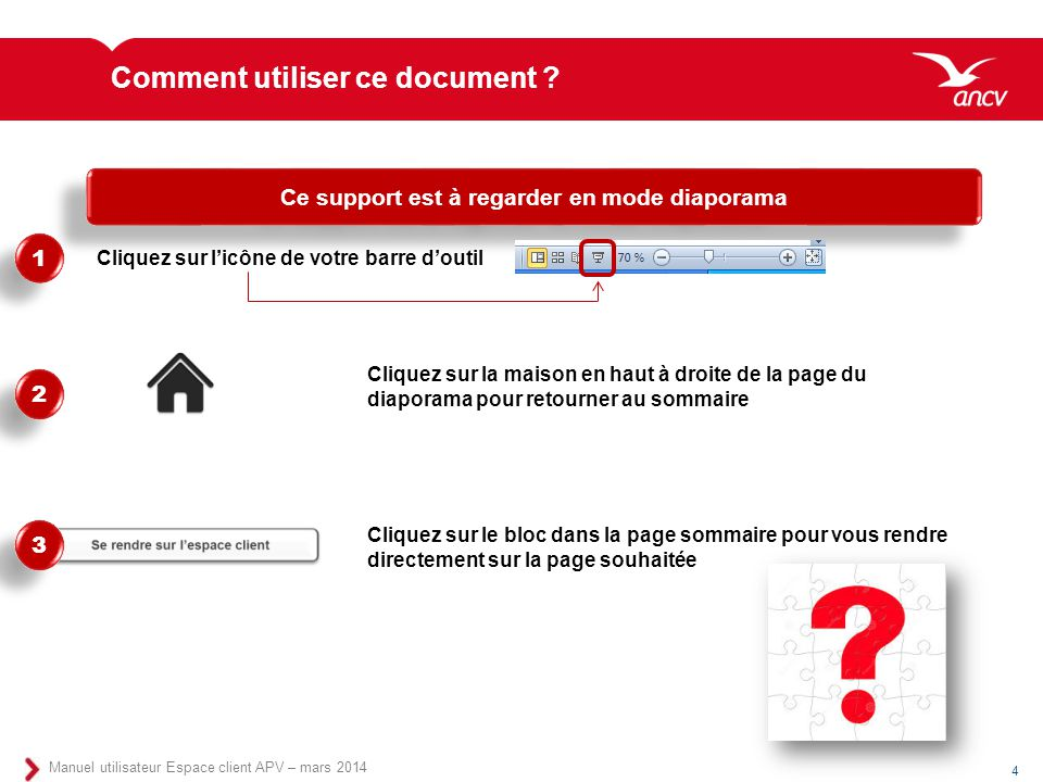 Comment utiliser ce document