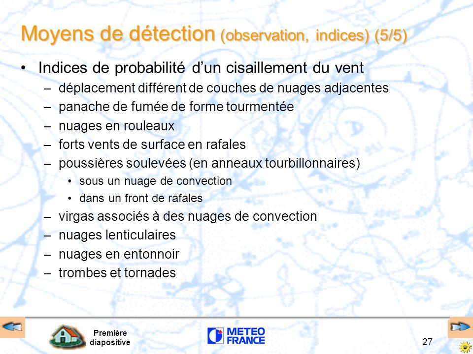 Moyens de détection (observation, indices) (5/5)