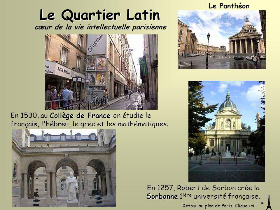 cœur de la vie intellectuelle parisienne