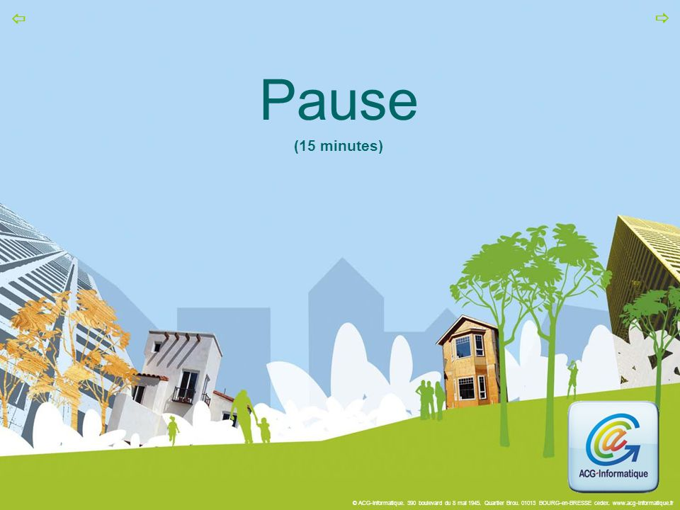 Pause (15 minutes)