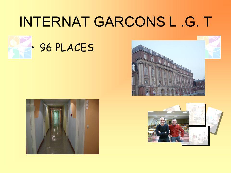 INTERNAT GARCONS L .G. T 96 PLACES