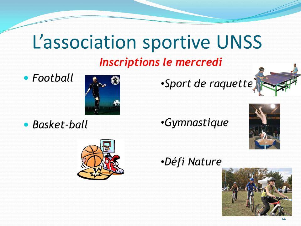 L'association sportive UNSS