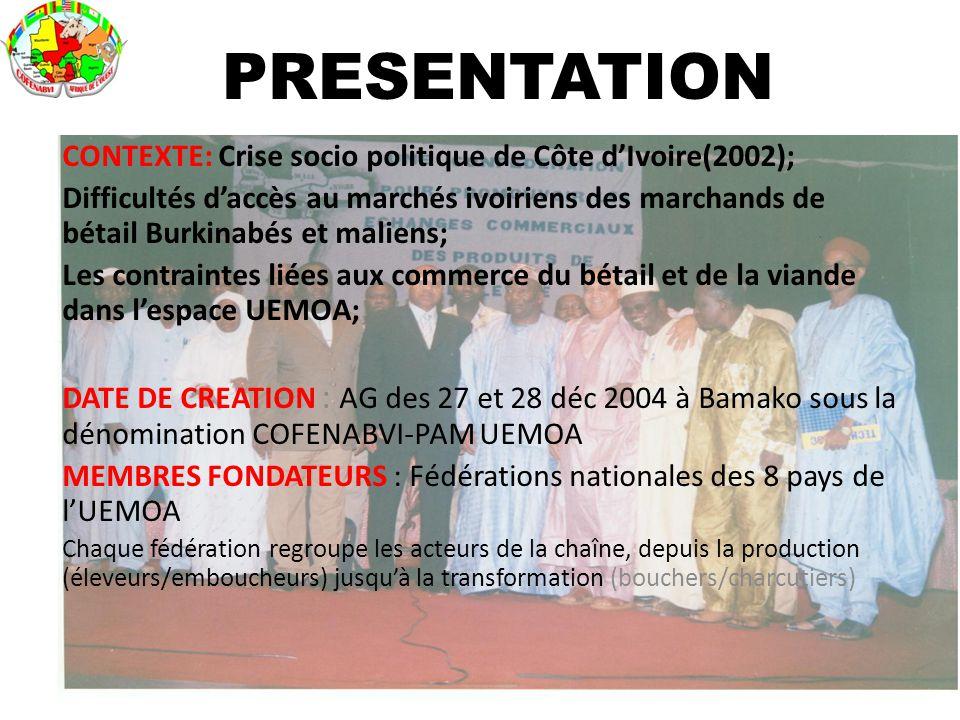 PRESENTATION CONTEXTE: Crise socio politique de Côte d'Ivoire(2002);