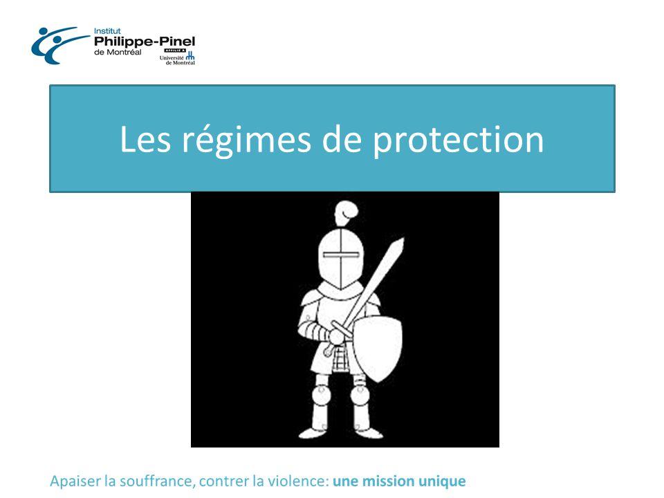 Les régimes de protection