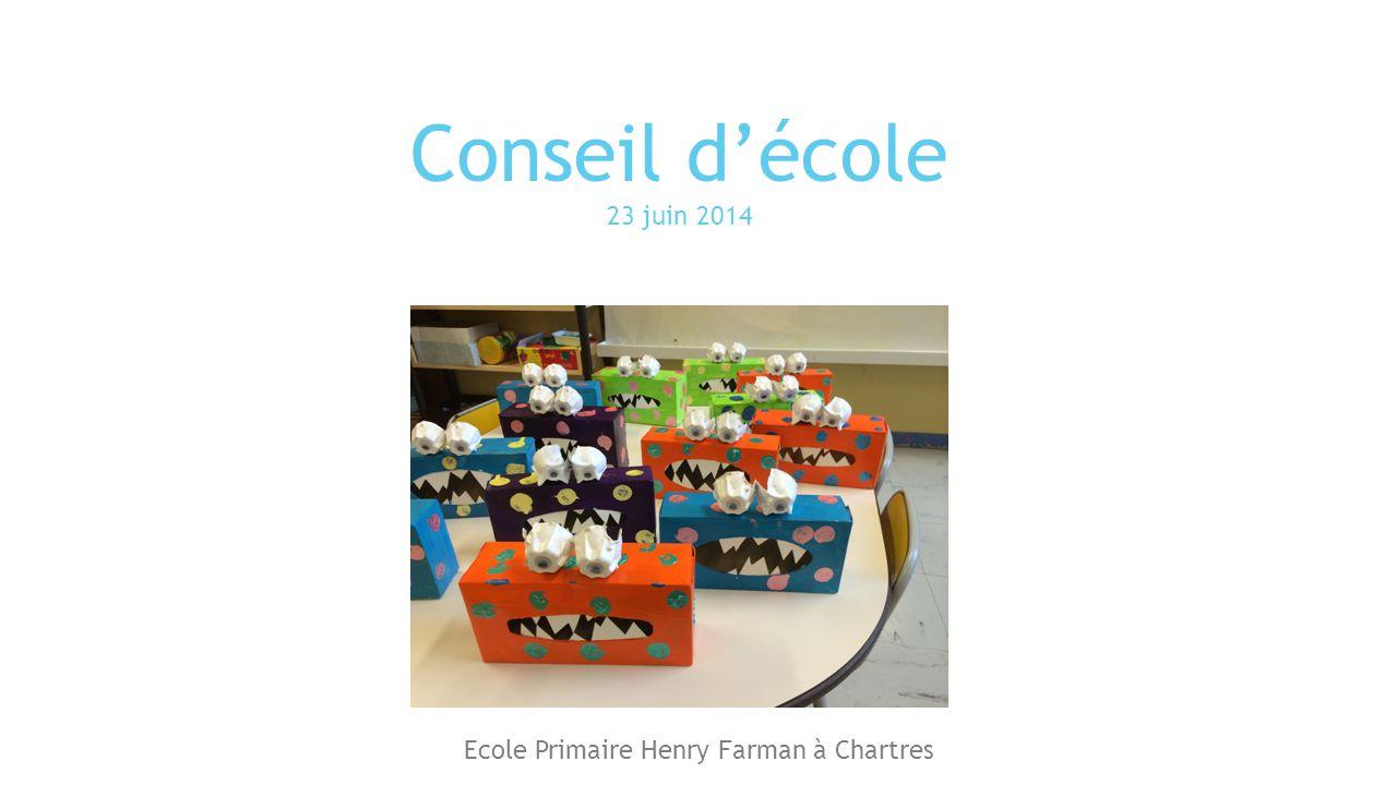 Ecole Primaire Henry Farman à Chartres
