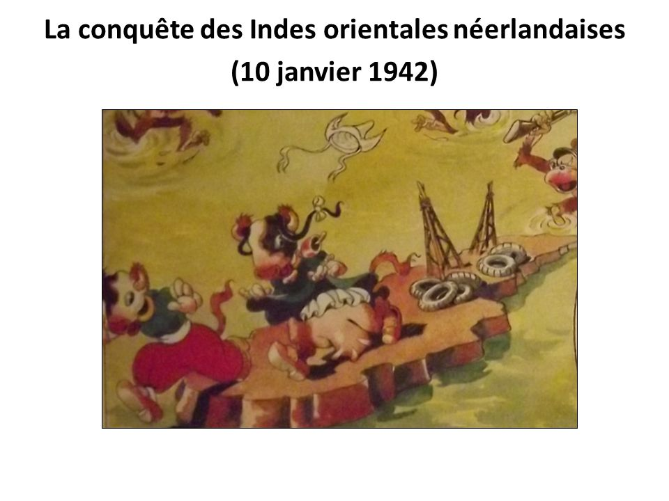 La conquête des Indes orientales néerlandaises (10 janvier 1942)
