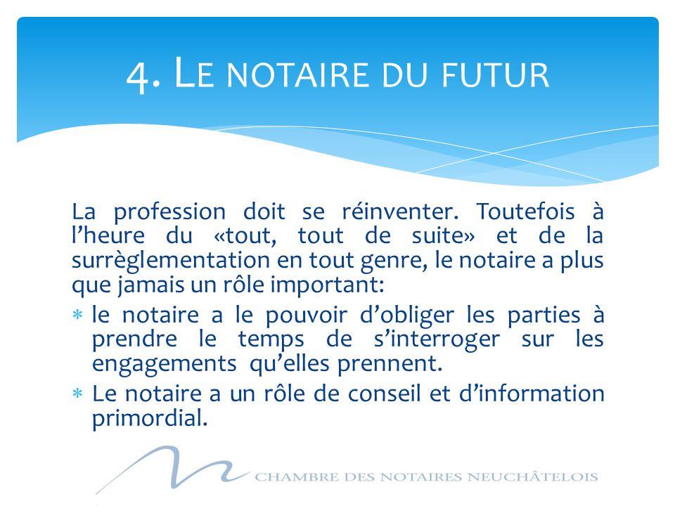 4. Le notaire du futur