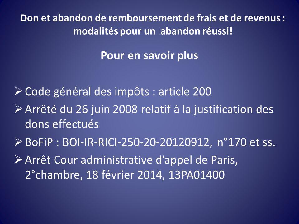 Code général des impôts : article 200