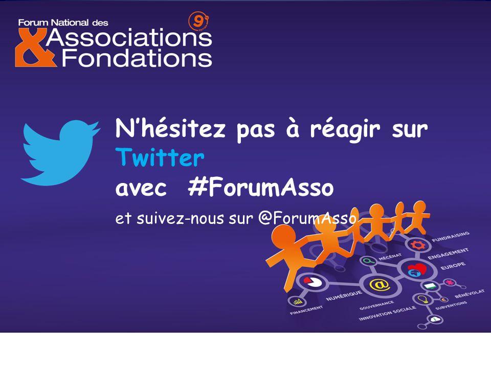 N'hésitez pas à réagir sur Twitter avec #ForumAsso