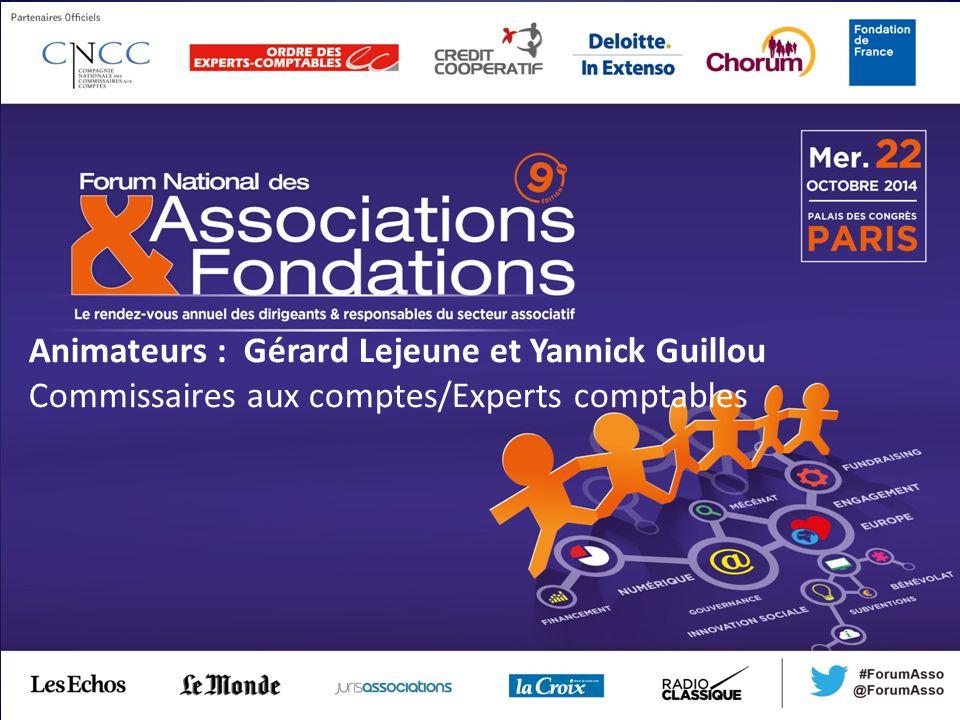 Animateurs : Gérard Lejeune et Yannick Guillou