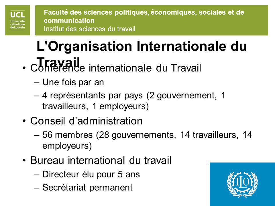 L Organisation Internationale du Travail