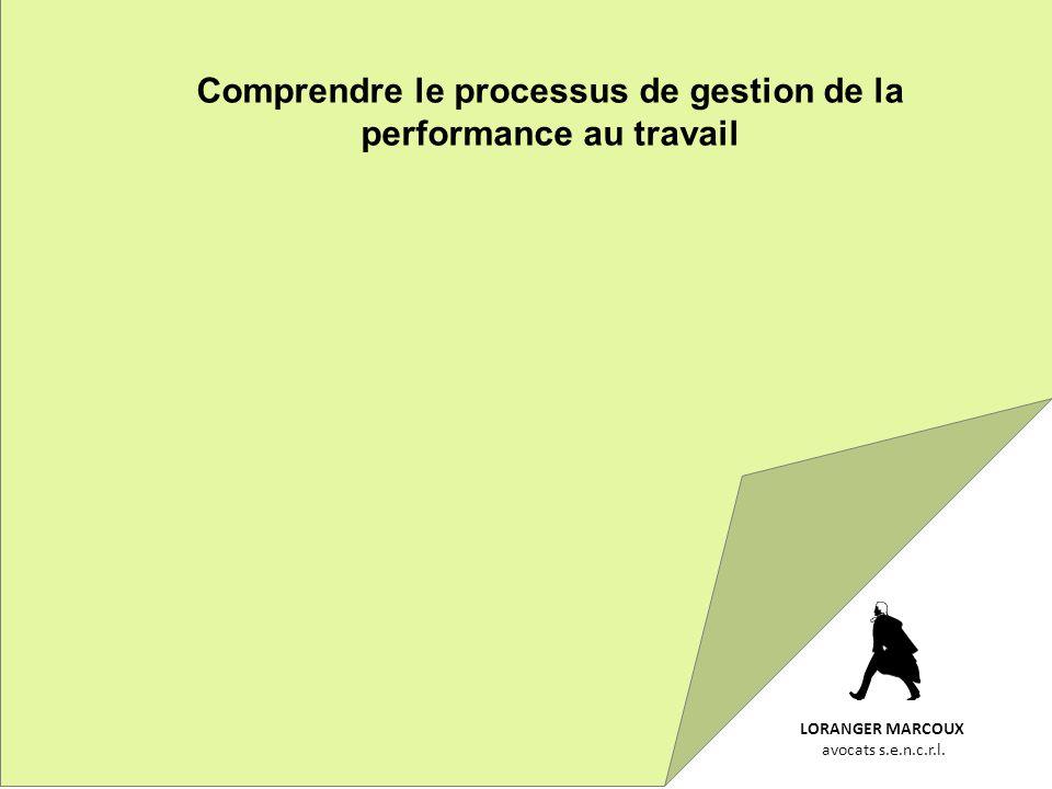 Comprendre le processus de gestion de la performance au travail