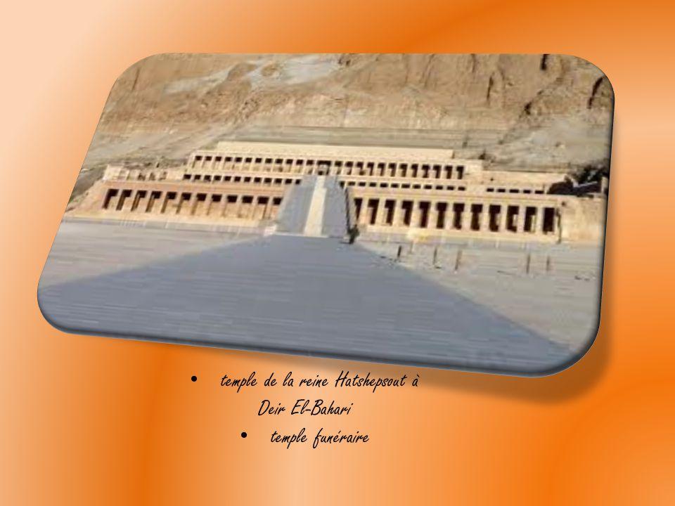 temple de la reine Hatshepsout à