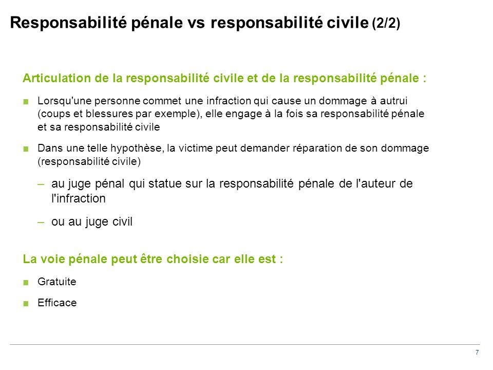Fondement et étendue de la responsabilité civile du CAC