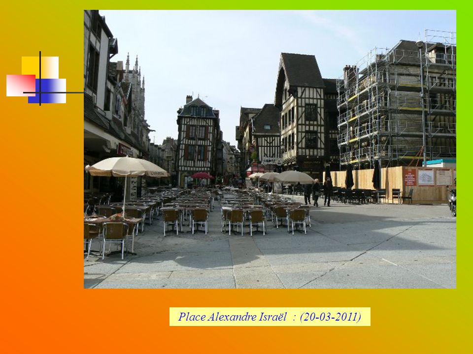 Place Alexandre Israël : (20-03-2011)
