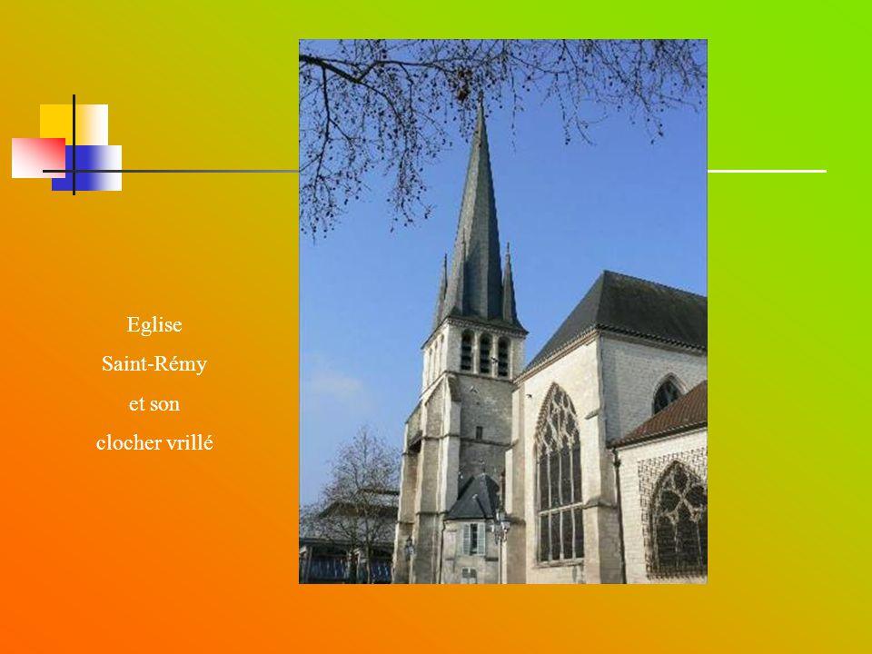 Eglise Saint-Rémy et son clocher vrillé
